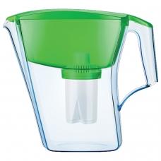 Кувшин-фильтр для очистки воды АКВАФОР 'Лайн', 2,8 л, со сменной кассетой, зеленый, И3596
