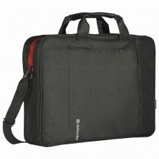 Сумка для ноутбука DEFENDER GEEK 15,6', полиэстер, черная с карманом, 26084