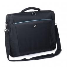 Сумка деловая BRAUBERG 'Sidney', 34х44х6 см, отделение для планшета и ноутбука 17,3', ткань, черная, 240449