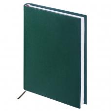 Ежедневник BRAUBERG недатированный, А5, 138х213 мм, 'Select', под зернистую кожу, 160 л., зеленый, 123431