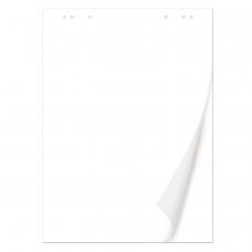 Блокнот для флипчарта BRAUBERG, 50 листов, чистые, 67,5х98 см, 80 г/м2, 128648