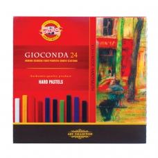 Пастель сухая художественная KOH-I-NOOR 'Gioconda', 24 цвета, квадратное сечение, 8114024003KS