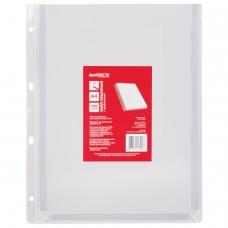 Папка-файл перфорированная, А4, объемная, до 200 листов, 180 мкм, 'ДПС', 2305