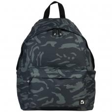 Рюкзак BRAUBERG, универсальный, сити-формат, серый, 'Камуфляж', 20 литров, 41х32х14 см, 225367
