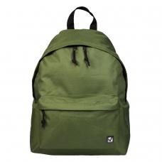 Рюкзак BRAUBERG, универсальный, сити-формат, один тон, зеленый, 20 литров, 41х32х14 см, 225382