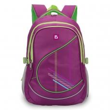 Рюкзак BRAUBERG для старших классов/студентов/молодежи, 'Крокус', 30 литров, 46х34х18 см, 225521