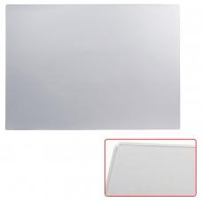 Коврик-подкладка настольный для письма, 655х475 мм, прозрачный матовый, 'ДПС', 2808