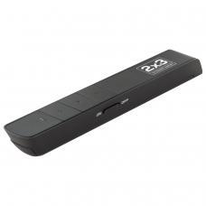 Указка-презентер лазерная '2х3' Польша, радиус действия 50 м, USB-ресивер, красный луч, WL002