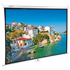 Экран проекционный настенный 150х200 см, матовый, 4:3, BRAUBERG WALL, 236728