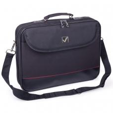 Сумка деловая BRAUBERG 'Profi', 25х35х7 см, отделение для планшета и ноутбука 13,3', ткань, черная, 240440