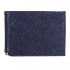 Зажим для купюр BEFLER 'Грейд', натуральная кожа, тиснение, 120х86 мм, синий, Z.9.-9