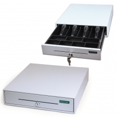 Ящик денежный для кассира 'Меркурий 100.1', МАЛЫЙ, 384х358х88 мм, отделений для монет - 7, для купюр - 4