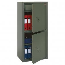 Сейф офисный VALBERG 'ASM-120Т/2', 1200х550х390 мм, 96 кг, 2 отделения, ключевой замок