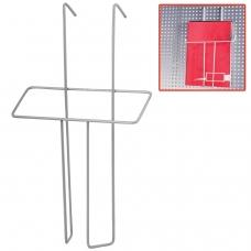 Лоток навесной для стоек ПАРУС, формат А5, 260х158х30 мм, проволочный, хром, 290444