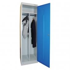 Шкаф металлический для одежды 'ШРЭК-21-530', 2 отделения, 1850х530х500 мм, разборный