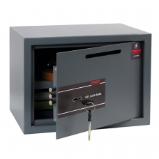 Сейф депозитный мебельный облегченной конструкции ONIX 'LS-25KD', 250х350х250 мм, 7,5кг, ключевой замок