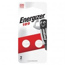Батарейки ENERGIZER Alkaline 189 G10, LR54, комплект 2 шт., в блистере, 1,5 В, 7638900083088