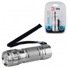 Фонарь светодиодный ЭРА SD9, 9 x LED, алюминиевый корпус, питание 3хААА в комплект не входят