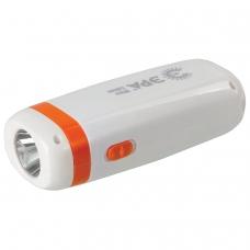 Фонарь светодиодный ЭРА KA10S, 10 х LED + 1 х LED, 2 режима, туристический, аккумуляторный заряд от 220 V, Б0025642