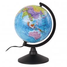 Глобус политический GLOBEN 'Классик', диаметр 210 мм, с подсветкой, К012100010