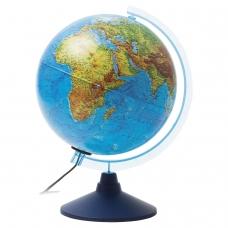 Глобус физический/политический GLOBEN 'Классик Евро', диаметр 250 мм, рельефный, с подсветкой, Ке022500195