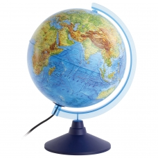 Глобус интерактивный физический/политический GLOBEN, диаметр 250 мм, с подсветкой, INT12500284