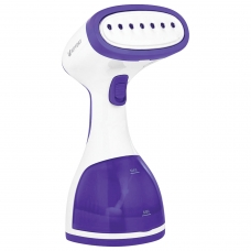 Отпариватель ручной KITFORT KT-916-2, 1000 Вт, пар 20 г/мин, резервуар 0,26 л, 1 режим, фиолетовый