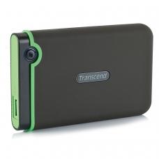 Диск жесткий внешний HDD TRANSCEND StoreJet 25M3S 1TB, 2.5', USB 3.0, черный, TS1TSJ25M3S