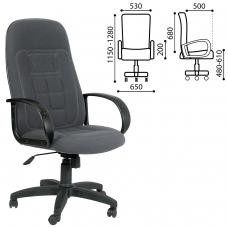 Кресло офисное 'Универсал', СН 727, серое, 1095994