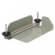 Струбцина-лоток для архивного переплета документов формата А4, металл, до 100 мм 950 л., 531083