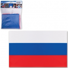 Флаг РФ, 70х105 см, упаковка с европодвесом, 550018