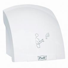 Сушилка для рук PUFF-8820, 2000 Вт, время сушки 25 секунд, пластик, белая