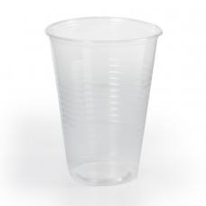 Одноразовые стаканы 200 мл, КОМПЛЕКТ 100 шт., пластиковые, 'БЮДЖЕТ', прозрачные, ПП, холодное/горячее, ЛАЙМА, 600933