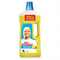 Средство для мытья пола и стен 1,5 л, MR.PROPER Мистер Пропер 'Лимон'