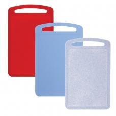 Доска разделочная пластиковая, 0,8х19,5х31,5 см, цвет микс разноцветный, IDEA, М 1573