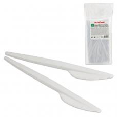 Одноразовые ножи 165 мм, КОМПЛЕКТ 100 шт., 'ЭТАЛОН', пластиковые, ЛАЙМА, 603080