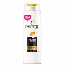 Шампунь 400 мл, PANTENE Пантин 'Густые и крепкие', для тонких и ослабленных волос, PT-81471253