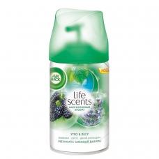 Сменный баллон 250 мл, AIRWICK LifeScents 'Утро в лесу', для автоматических освежителей, универсальный, 3024889