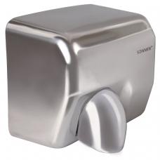 Сушилка для рук SONNEN HD-798S, 2300 Вт, время сушки 15 секунд, нержавеющая сталь, антивандальная, 604194