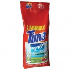 Стиральный порошок-автомат 10 кг, LAUNDRY TIME Лондри Тайм