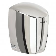 Сушилка для рук SONNEN HD-777, 1200 Вт, время сушки 15 секунд, нержавеющая сталь, антивандальная, 604748