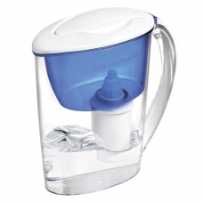 Кувшин-фильтр для очистки воды БАРЬЕР 'Экстра', 2,5 л, со сменной кассетой, индиго, В091Р00