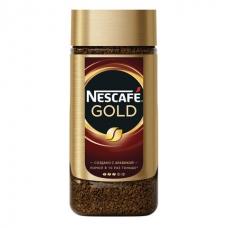 Кофе молотый в растворимом NESCAFE Нескафе 'Gold', сублимированный, 190 г, стеклянная банка, 12135508