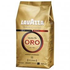 Кофе в зернах LAVAZZA Лавацца 'Qualita Oro', натуральный, 1000 г, вакуумная упаковка, 2056