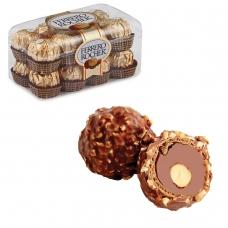Конфеты FERRERO 'Rocher', шоколадные, 200 г, пластиковая упаковка, 77070887