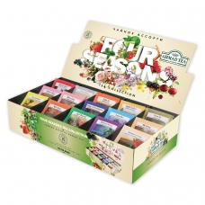 Чай AHMAD Ахмад 'Four Season's', 90 пакетиков в конвертах по 1,8 г, 15 вкусов, N060