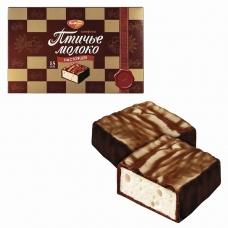 Конфеты шоколадные РОТ ФРОНТ 'Птичье молоко', сливочно-ванильные, 200 г, РФ09760