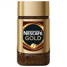Кофе молотый в растворимом NESCAFE Нескафе 'Gold', сублимированный, 47,5 г, стеклянная банка, 12135509