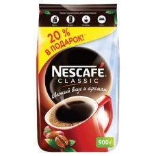 Кофе растворимый NESCAFE Нескафе 'Classic', гранулированный, 900 г, мягкая упаковка, 11623339