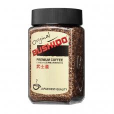 Кофе растворимый BUSHIDO 'Original', сублимированный, 100 г, 100% арабика, стеклянная банка, 1004